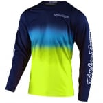 Troy Lee Designs GP Air Staind Navy Yellow Jersey