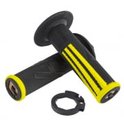 ODI EMIG Pro V2 Lock On Yellow Black Motocross Grips