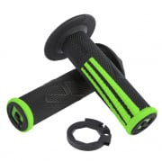 ODI EMIG Pro V2 Lock On Black Green Motocross Grips
