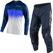 Troy Lee Designs Kids GP Staind Navy White Kit Combo