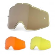 100% Goggle Lenses - Plus Injected HD Lens