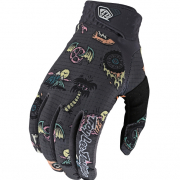 Troy Lee Designs Air LE Artist Series Elemental Charcoal Gloves