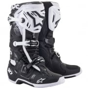 Alpinestars Tech 10 Black White Boots