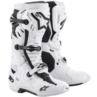 Alpinestars Tech 10 Supervented White Boots