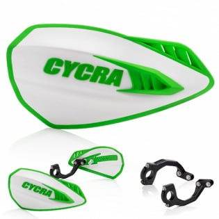 Cycra Cyclone Handguards - White Green