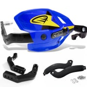 Cycra Ultra ProBend HCM Bar Clamp Mount Handguards - Blue