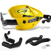 Cycra Ultra ProBend HCM Clamp Mount Handguards - Husq Yellow
