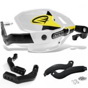 Cycra Ultra ProBend HCM Bar Clamp Mount Handguards - White