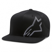 Alpinestars Corp Snap Cap Black Charcoal
