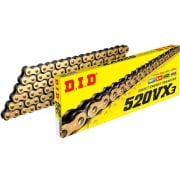 DID VX3 Series Heavy Duty X Ring Chain - Gold Black