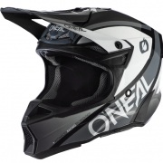 ONeal 10 Series Hyperlite Core Black Grey Motocross Helmet