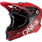 ONeal 10 Series Hyperlite Core Red Black Motocross Helmet