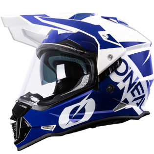 ONeal Sierra 2 R Blue White Adventure Helmet