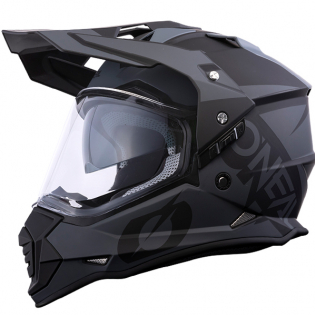 ONeal Sierra 2 R Black Grey Adventure Helmet