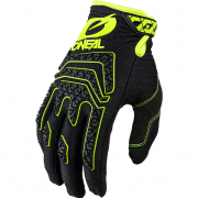 ONeal Sniper Elite Black Neon Yellow Motocross Gloves