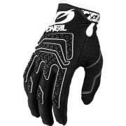 ONeal Sniper Elite Black White Motocross Gloves
