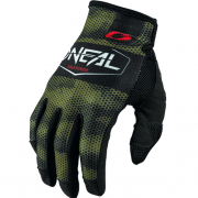 ONeal Mayhem Covert Black Green Motocross Gloves