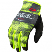 ONeal Mayhem Covert Charcoal Neon Yellow Motocross Gloves