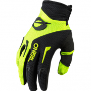 ONeal Element Neon Yellow Black Motocross Gloves