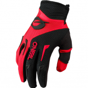ONeal Element Red Black Motocross Gloves