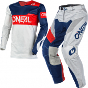 ONeal Airwear Freez Grey Blue Red Vented Kit Combo