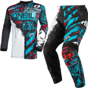 ONeal Element Ride Black Blue Kit Combo