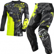 ONeal Element Ride Black Neon Yellow Kit Combo