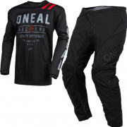 ONeal Element Dirt Black Grey Kit Combo