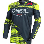 ONeal Mayhem Covert Charcoal Neon Yellow Jersey
