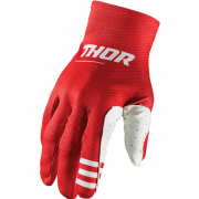 Thor Agile Plus Red Gloves