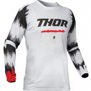 Thor Pulse Air Rad White Red Jersey