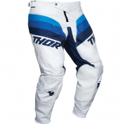 Thor Kids Pulse Racer White Navy Pants