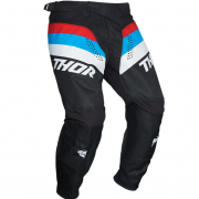 Thor Kids Pulse Racer Black Red Blue Pants