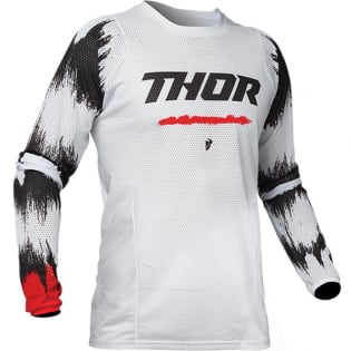 Thor Kids Pulse Air Rad White Red Jersey