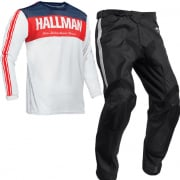 Thor Hallman Tapd Air Red White Blue Kit Combo