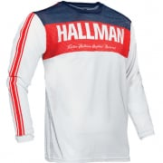 Thor Hallman Tapd Air Red White Blue Jersey