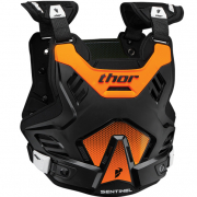 Thor Sentinel GP Black Orange Body Armour