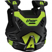Thor Sentinel GP Black Flo Green Body Armour