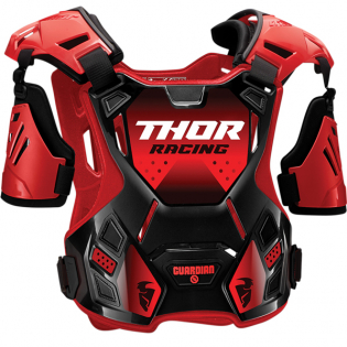 Thor Guardian Red Black Body Protector