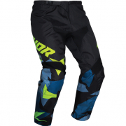 Thor Kids Sector Warship Blue Acid Pants