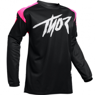 Thor Kids Sector Link Pink Jersey