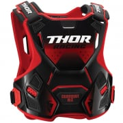 Thor Youth Guardian MX Red Black Body Armour