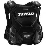 Thor Youth Guardian MX Charcoal Black Body Armour
