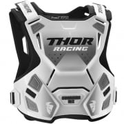 Thor Youth Guardian MX White Black Body Armour