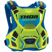 Thor Kids Guardian MX Flo Green Body Armour