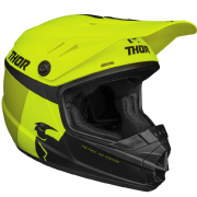 Thor Kids Sector Racer Acid Lime Helmet