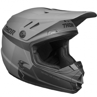 Thor Kids Sector Racer Black Charcoal Helmet