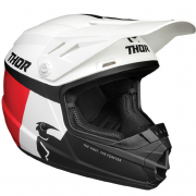 Thor Kids Sector Racer White Red Blue Helmet