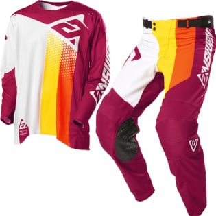Answer Elite Pace Ghost Berry Orange Kit Combo