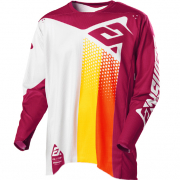 Answer Elite Pace Ghost Berry Orange Jersey